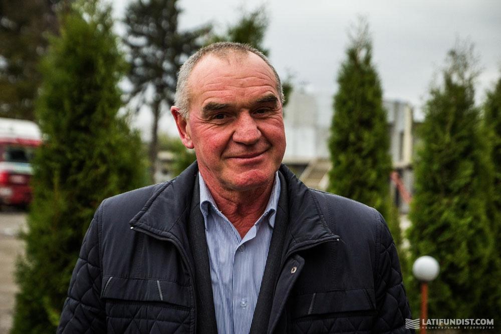 Василий Галема, директор сельскохозяйственного кооператива «Решнивецкий»